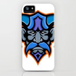 Hades Greek God Head Mascot iPhone Case