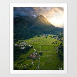 Landscape of Germany Art Print