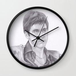 Al Pacino - Scarface Wall Clock