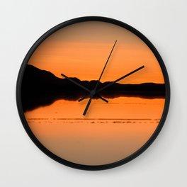 Salar de Uyuni 4 Wall Clock