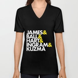 Lakers Lineup: LeBron & Young Core Unisex V-Neck