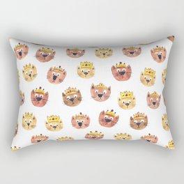 Cats in Crowns Rectangular Pillow