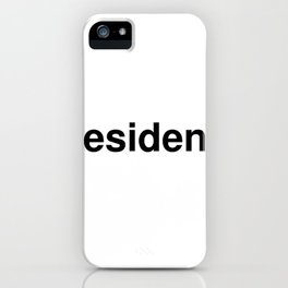 resident iPhone Case