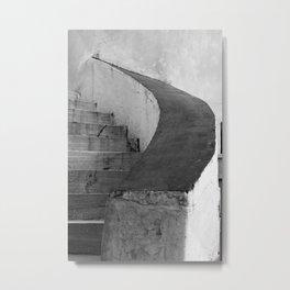 Steps Composition 4 Metal Print