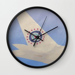 Silver Screen Tourism: OCEANIC AIRLINES / LOST Wall Clock
