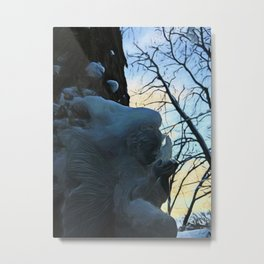 Angel On My Tree Metal Print