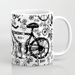 I Want To Ride My Bike Coffee Mug