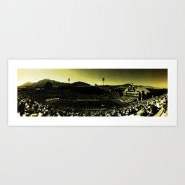 Folsom Field Art Print