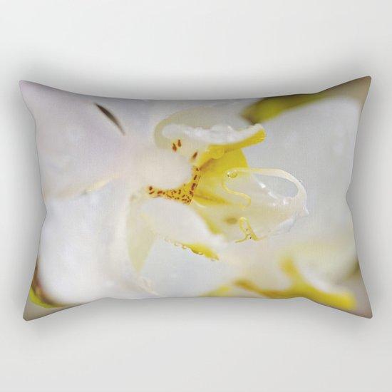 WHITE ORCHID Rectangular Pillow