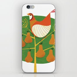 First Day of Christmas iPhone Skin