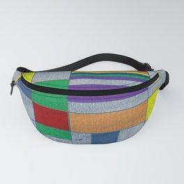 Mid-Century Modern Art - Rainbow Pride 1.0 Fanny Pack