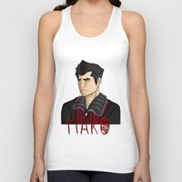 nerd Tank Tops featuring Nerd by BlackPhoenixFeathers