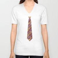gryffindor V-neck T-shirts featuring Gryffindor by Zach Terrell