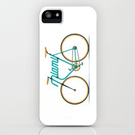 Miami Typo - Bike iPhone Case
