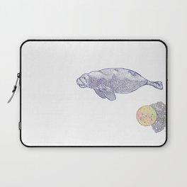 Space Manatee Laptop Sleeve