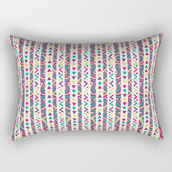 Aztec Fiesta Rectangular Pillow