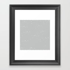 striped shirt Framed Art Print