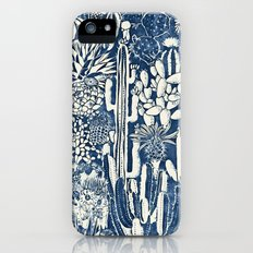 Indigo cacti Slim Case iPhone (5, 5s)