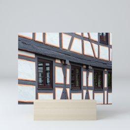 Concept city : Windows Mini Art Print