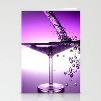 martini Stationery Cards featuring Martini by Littlebell