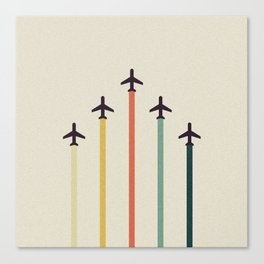 Airplanes Canvas Print