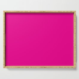 Simply Magenta Pink Serving Tray