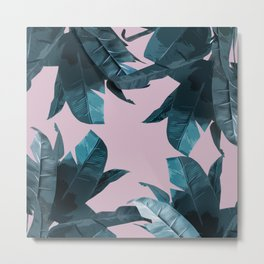 Tropical Palm Print #2 Metal Print
