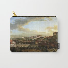 Bernardo Bellotto View of Warsaw from the Royal Castle Carry-All Pouch