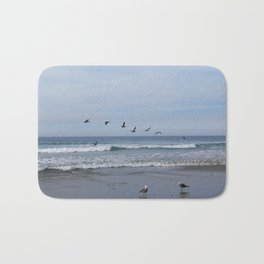Flight of the Sea Birds Bath Mat