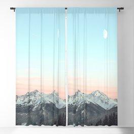 Mountains Landscape Blackout Curtain