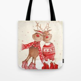 Dancing Elks Tote Bag