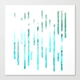 Minimial Lines - Summer Canvas Print