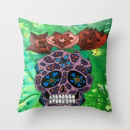 Roses For Mother Throw Pillow