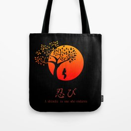 Shinobi Endures Tote Bag