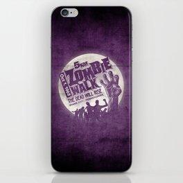 Zombie Walk iPhone Skin