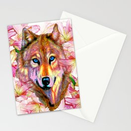 Wolf #66 Stationery Cards