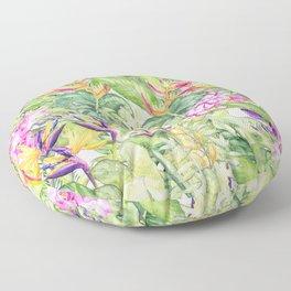 Tropical Garden 1A #society6 Floor Pillow