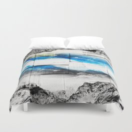 Reading is dreaming with open eyes Duvet Cover