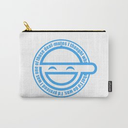 The Laughing Man Carry-All Pouch