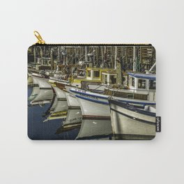 Angelina At The Wharf Carry-All Pouch