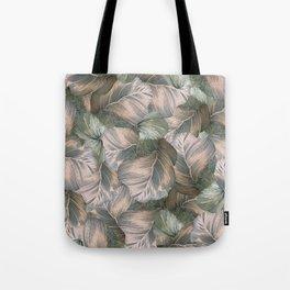 Heathered Grey Intertwine Tote Bag