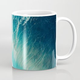 Waving Blue Coffee Mug