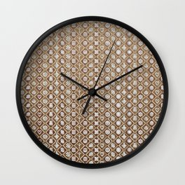 Ethnic Composition V3 Wall Clock