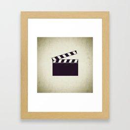 Clapper Framed Art Print