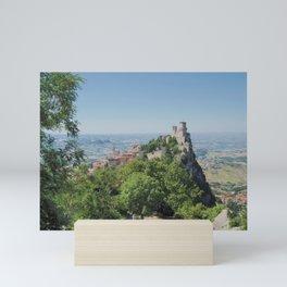 La Fortezza di Guaita Mini Art Print