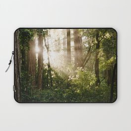 sunlit redwoods Laptop Sleeve