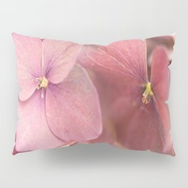 Hortensia Flower Pink Hydrangea #decor #society6 #buyart Pillow Sham