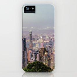 Hongkong sunset 2 iPhone Case