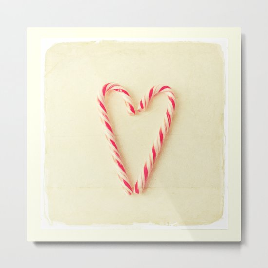 Christmas Heart  Metal Print