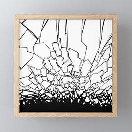 Broken II Framed Mini Art Print